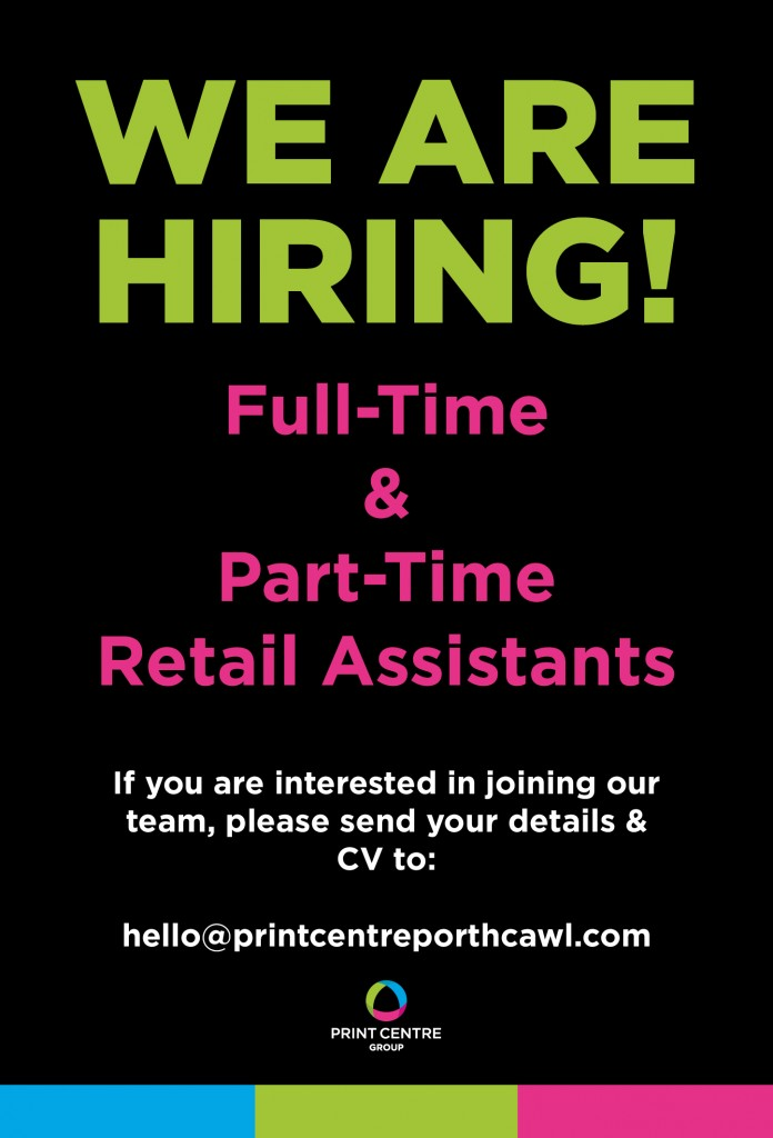 PC We are Hiring_Porthcawl Assistants